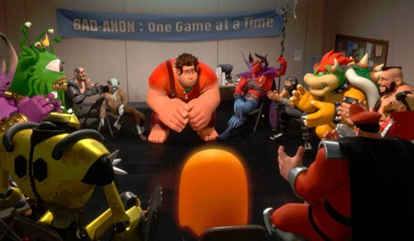 Ralph at Bad-Anon meeting in Wreck-It Ralph