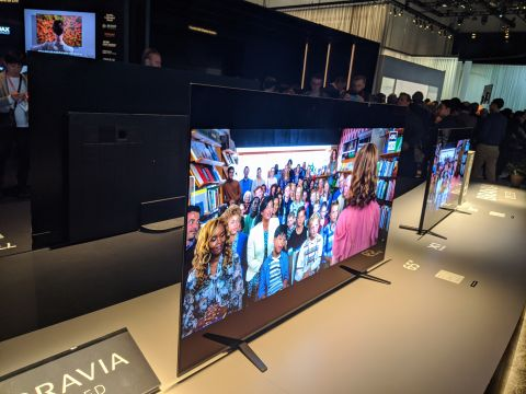 Sony Bravia A8H OLED TV hands on