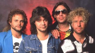 Hagar with Van Halen in the 80s