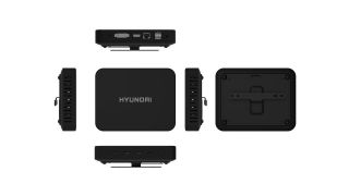 The Hyundai Mini PC from all sides