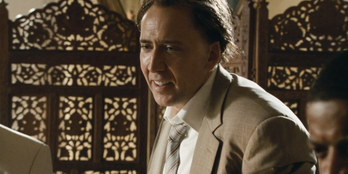Nicolas Cage in Bad Lieutenant Port Of Call New Orleans