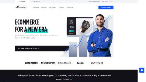 BigCommerce's website