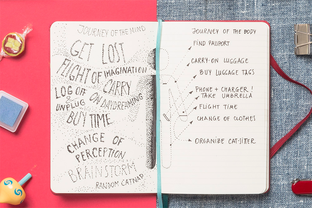 Moleskine's Two-Go notebook is a multipurpose marvel