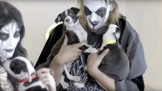 Black metal puppies