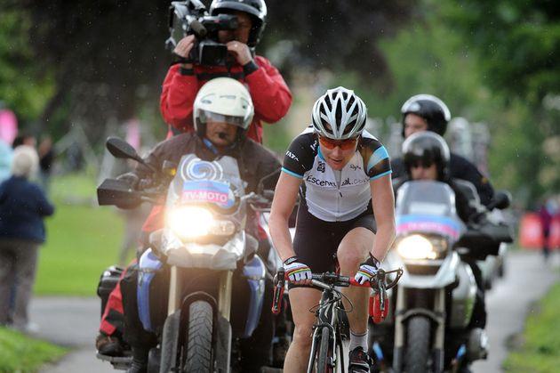 Sarah Storey, British road race National Championships 2012