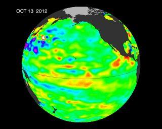 sea surface height anomalies