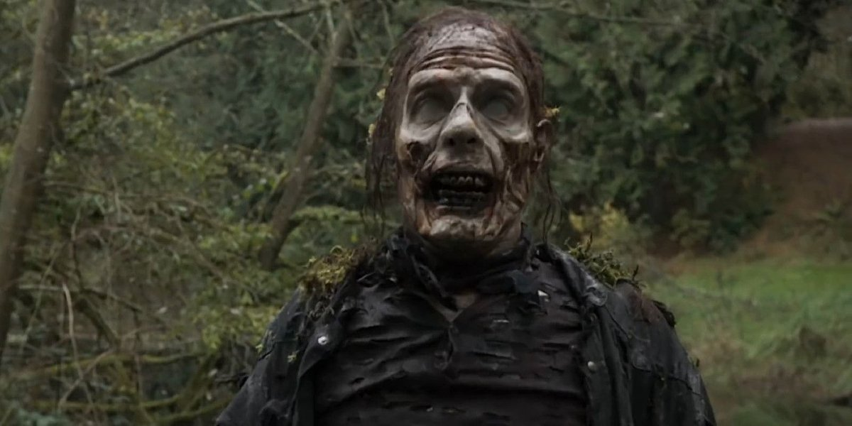 A zombie in the Day of the Dead trailer