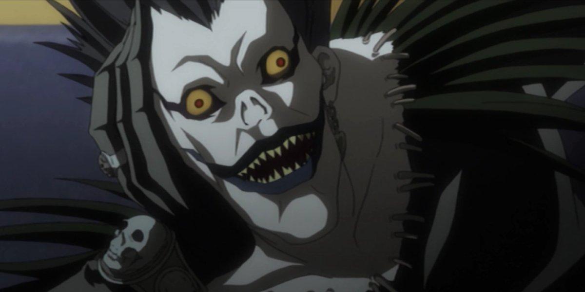 Ryuk on Death Note