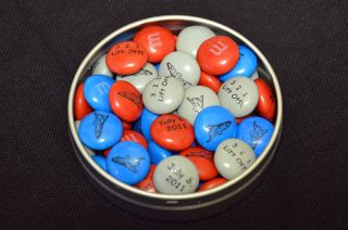 Special M&Ms for final shuttle mission