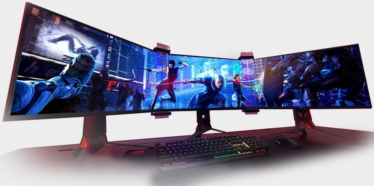 This clever contraption makes the bezels on your multi-monitor setup disappear