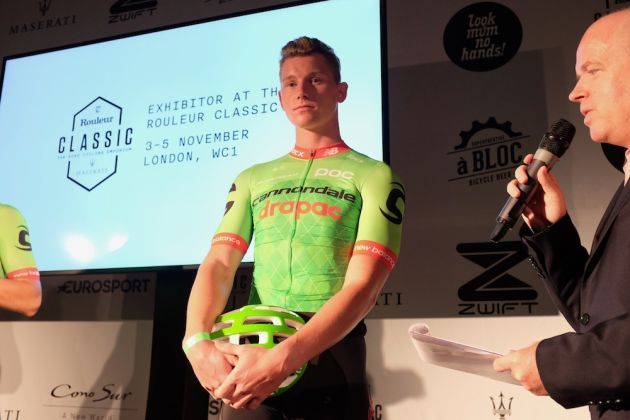 Ryan Mullen in Cannondale-Drapac's 2017 kit