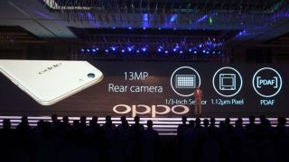 Oppo F3 with dual front cameras launched in India at Rs 19,990