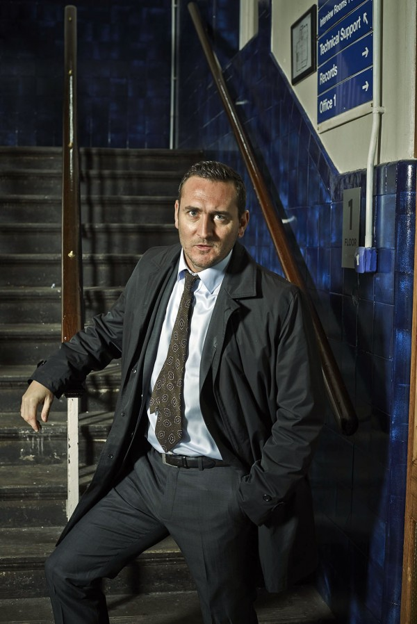Will plays detective Constable Spike Tanner in No Offence (Channel 4)