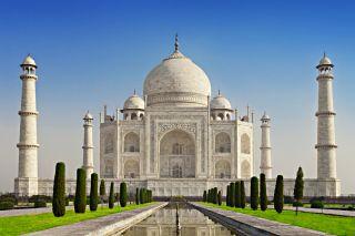 The Taj Mahal, in India