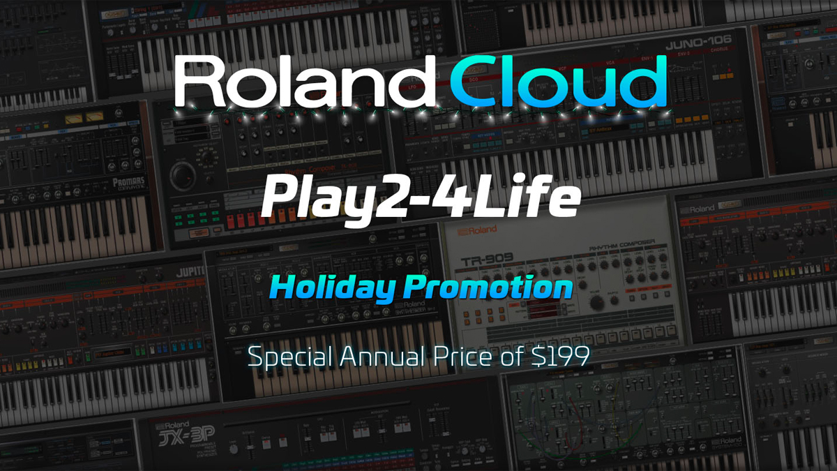 Sign up to Roland Cloud for a year and you can keep two plugin
