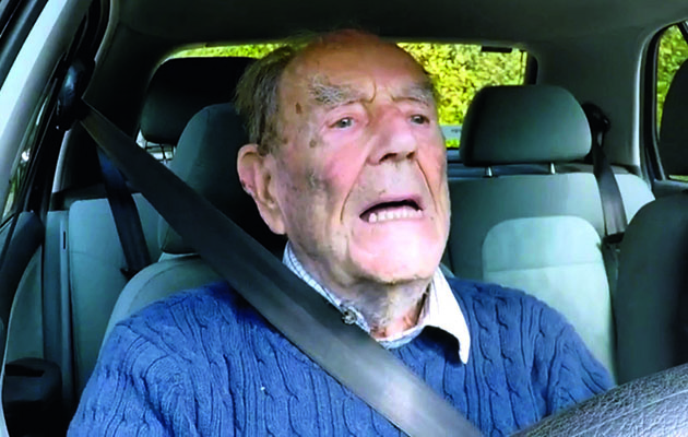 The UK's mature motorists get behind the wheel to take a test to determine whether they should still be driving in their dotage.