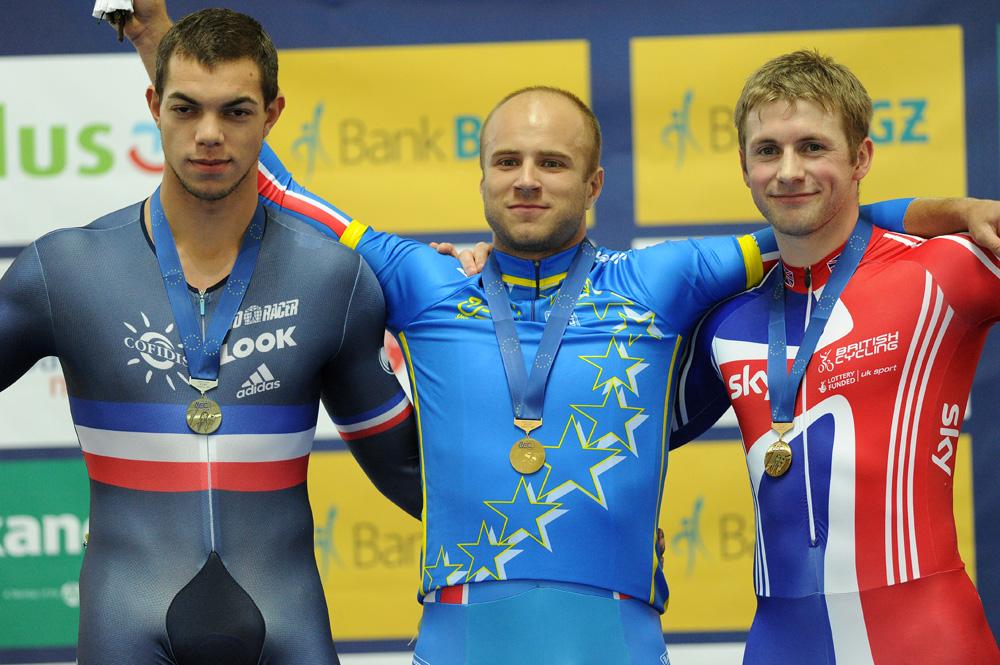 Sireau, Dmitriev and Kenny, men