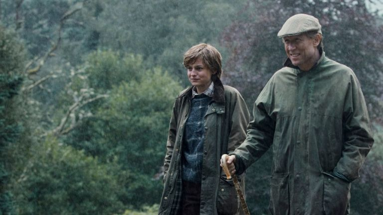 Cyber Monday Barbour deals, Emma currin in barbour jacket as princess diana