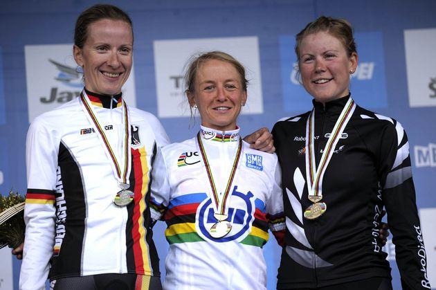 Emma Pooley, women's TT, World Championships 2010
