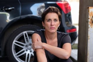 Vicky McClure as unhappy hairdresser Nicola in I Am Nicola