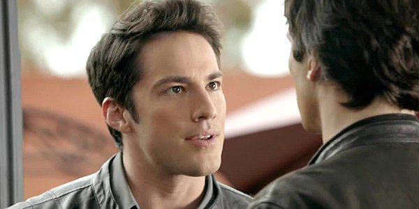 Michael Trevino as Tyler Lockwood on The Vampire Diaries The CW