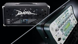Diezel VHX and Kemper Profiler guitar amps