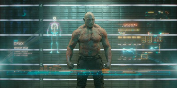 Drax the destroyer guardians of the galaxy dave bautista