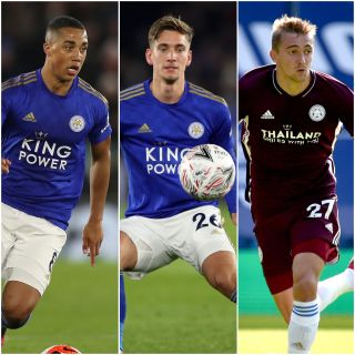 Youri Tielemans, Dennis Praet and Timothy Castagne
