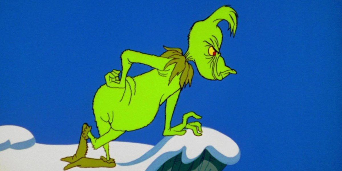 Boris Karloff in How the Grinch Stole Christmas