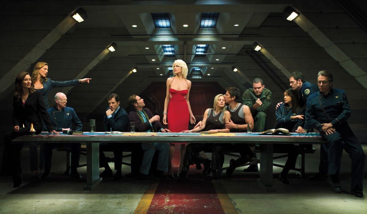 Cast of reimagined Battlestar Galactica series