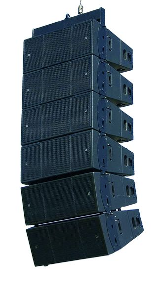 Turbosound's Spotlight Shines on the Flex Array with New Powered Options