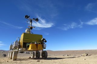 Europe's Mock Mars Rover 'Bridget' in Chile