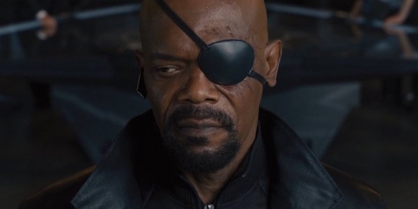 Nick Fury in Age of Ultron
