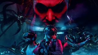 Far Cry VR mit einem Team von Spielern in Aktion