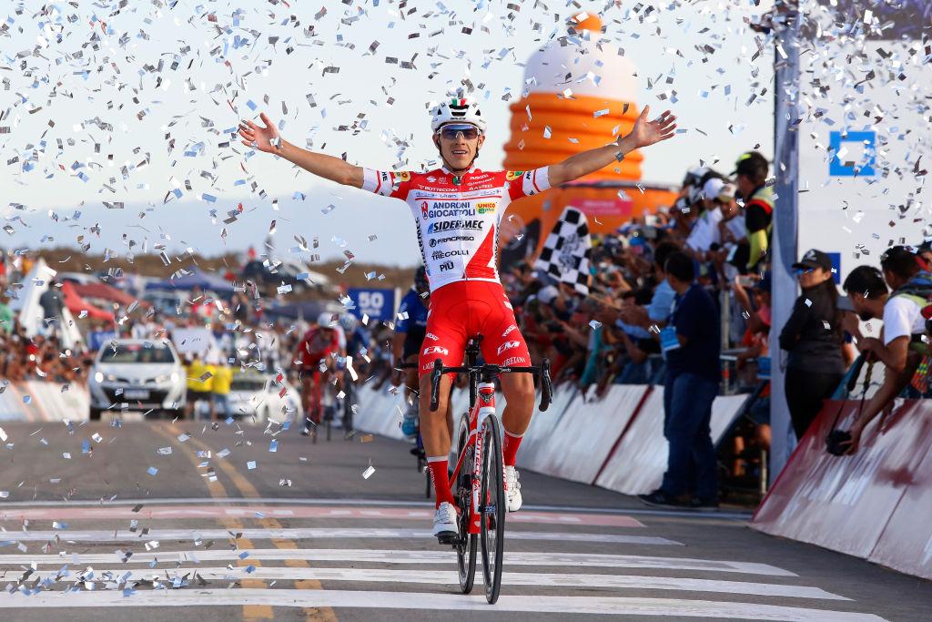 Miguel Florez wins stage 5 at the Vuelta a San Juan