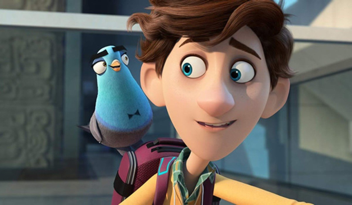 Spies In Disguise Lance and Walter in the field