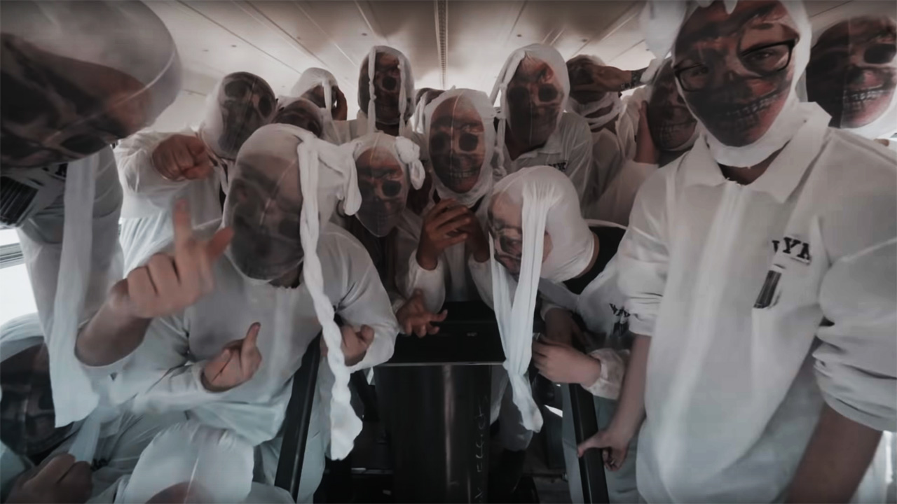 Go behind the scenes with Slipknot on epic All Out Life