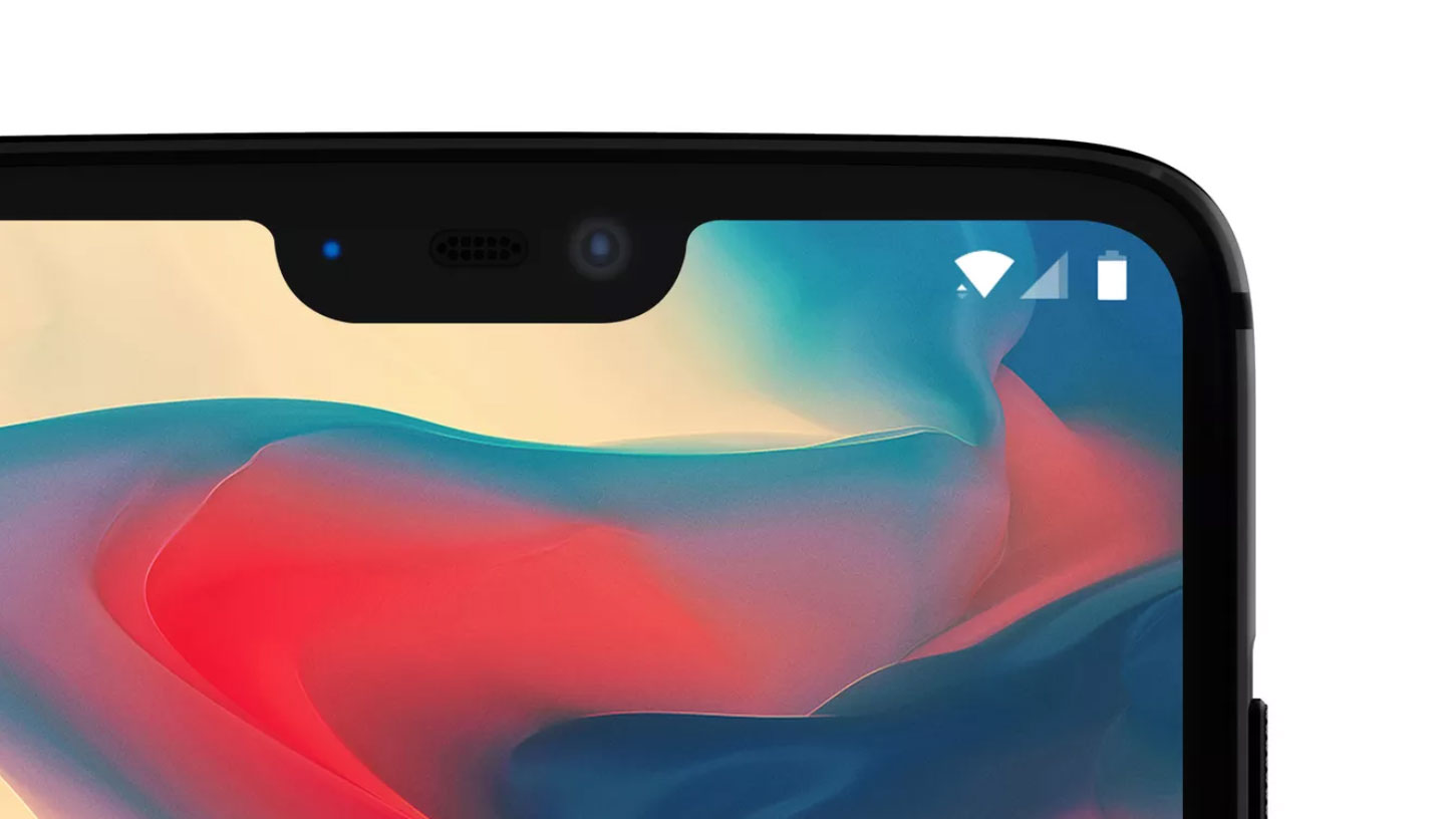 OnePlus 6 screen notch