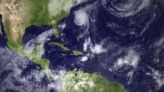 hurricane katia and tropical storms maria and nate
