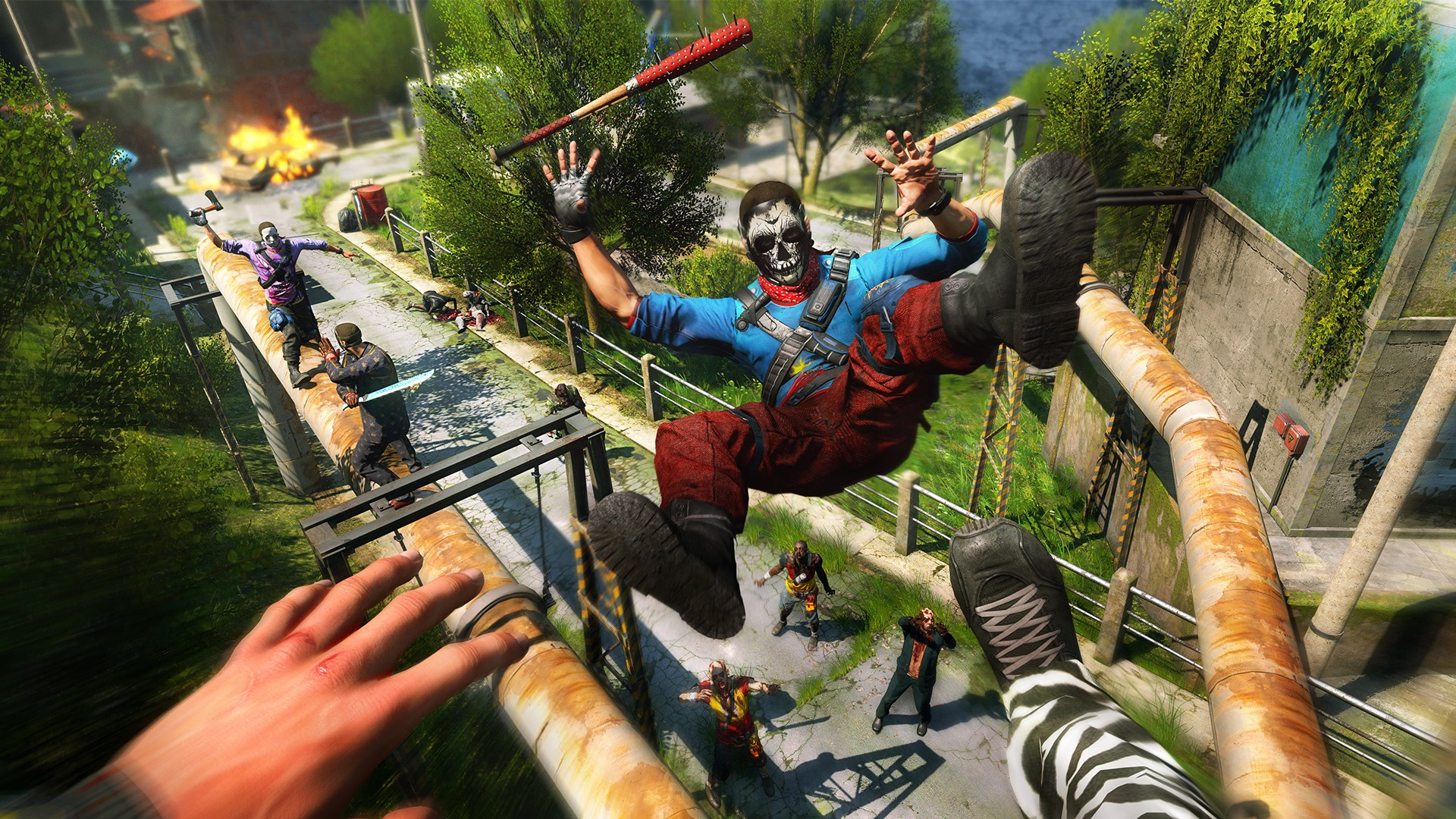 The 'brutal royale' game Dying Light: Bad Blood is live on Steam Early Access