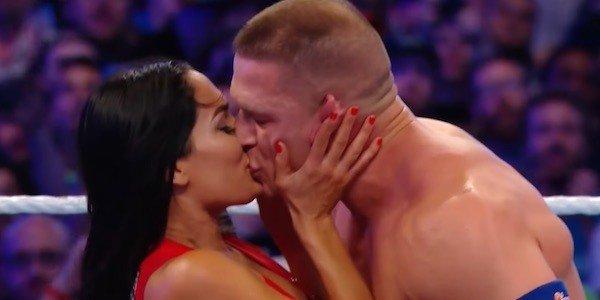 Nikki Bella John Cena Wrestlemania 33