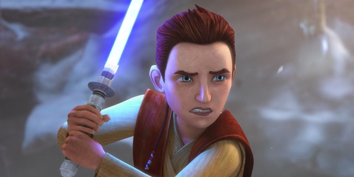 Young Caleb Dume in Star Wars: The Bad Batch