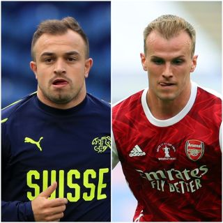 Xherdan Shaqiri and Rob Holding