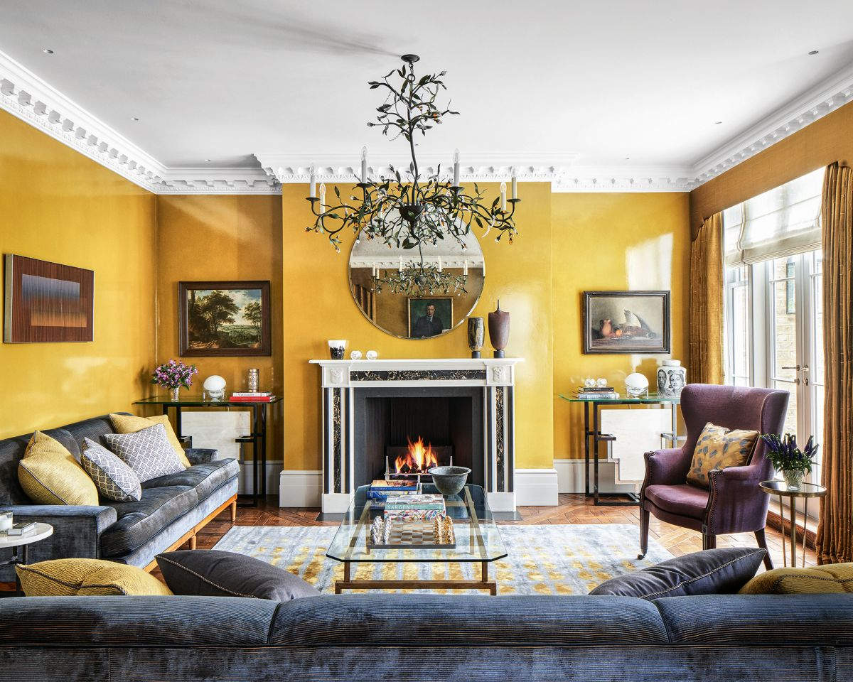 Be inspired by these living room paint ideas