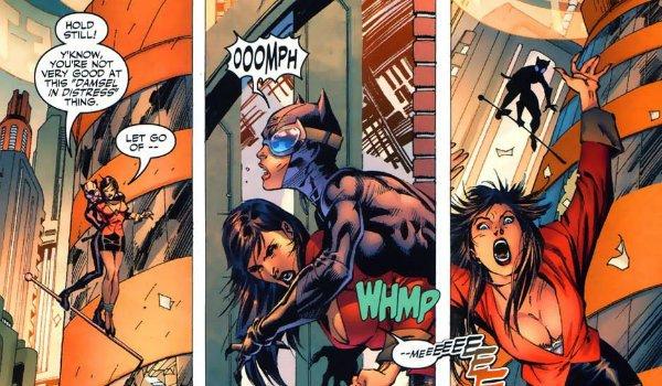 Batman Hush Catwoman Lois Lane