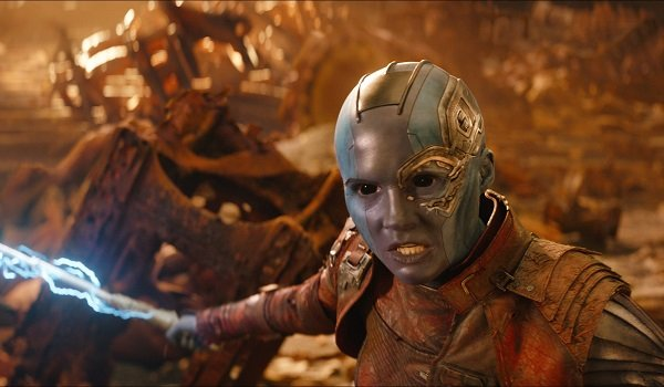 Nebula Karen Gillan Avengers: Infinity War Marvel