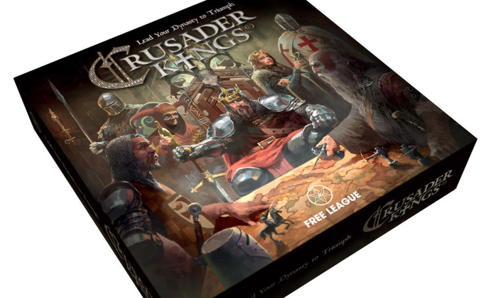 The Crusader Kings board game brings the medieval soap opera