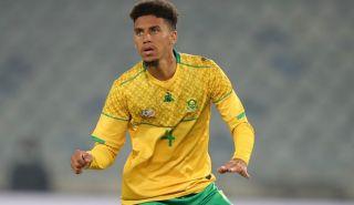 Rushine De Reuck of Bafana Bafana