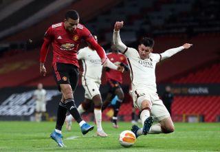 Manchester United v Roma – UEFA Europa League – Semi Final – First Leg – Old Trafford