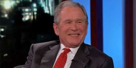 Yes, George W. Bush Sometimes Photobombs Wedding Photos